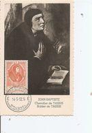 Belgique - Tours Et Tassis ( CM De 1952 à Voir) - Maximum Cards