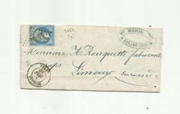 Aude Quillan GC + T15 Marque Après Le Départ Omise - 1849-1876: Klassik