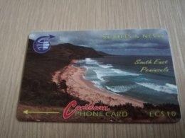 ST KITTS & NEVIS   GPT CARD $10,-   3CSK (ERROR)     NO STK-3Ba    SOUTH EAST PENINSULA     Fine Used Card  **2329** - Saint Kitts & Nevis
