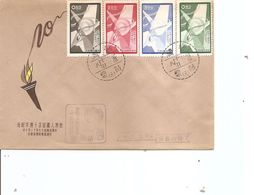 Taiwan -Formose ( FDC De 1958 à Voir) - 1945-... République De Chine