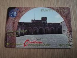 ST KITTS & NEVIS   GPT CARD $20,-   3CSKC     NO STK-3C   BRIMSTONE HILL FORTRESS  2    Fine Used Card  **2330** - Saint Kitts & Nevis