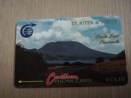 ST KITTS & NEVIS   GPT CARD $20,-   3CSKD     NO STK-3D   SOUTH EAST PENINSULA 2    Fine Used Card  **2331** - Saint Kitts & Nevis