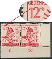 Deutsches Reich 1944 Marsch Feldherrnhalle Mit Plattenfehler 906 I Postfrisch - Germany