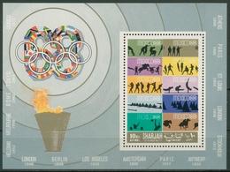 Sharjah 1968 Olympiade Mexico Briefmarken Block 43 A Postfrisch (C18982) - Sharjah