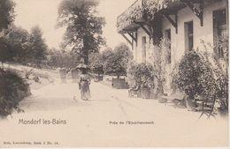 MONDORF - PRES DE L'ETABLISSEMENT - NELS SERIE 3 N° 14 - Mondorf-les-Bains