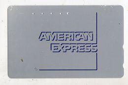 JAPON TELECARTE AMERICAN EXPRESS - Advertising