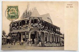 C. P. A. : SAMOA : Grüsse Aus APIA, Stamp In 1910 - Samoa
