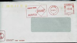 Doc. De Liège 4 Du 21/12/78 Avecc EMA Jouets (: CORGI TOYS - AIRFIX Et Trains: JOUEF - EMA (Empreintes Machines)
