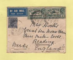 Inde - Charing Cross - 1937 - Destination Calais France - India (...-1947)