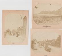 3 Photos Originales De Ault Dans La Somme - Oud (voor 1900)