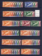 France - Grande Série Coloniale - Série De Londres - Poste Aérienne - Neufs Sans Charnière - France (ex-colonies & Protectorats)