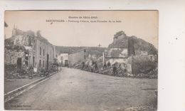 SP- 54 - BADONVILLER - Faubourg D'Alsace Apres L'invasion Du 12 Aout - Ruines - Guerre 14 18 - - France