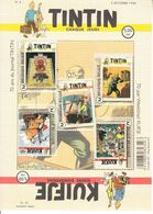 2016 Belgium TinTin Comics Art  Miniature Sheet Of 5  MNH @ Below Face Value - Belgium