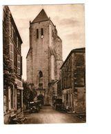 79 Celles Eglise Et Abbaye De Notre Dame De Celles Le Clocher De Celles , Format CPM - Celles-sur-Belle