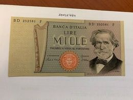 Italy Verdi 1000 Lire Uncirc. Banknote 1980  #2 - 1000 Lire