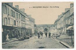 Bricquebec : Rue Du Bourg ( Edition Desaix) - Bricquebec