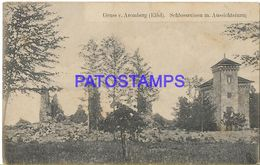 135818 GERMANY AREMBERG CASTLE RUINS POSTAL POSTCARD - Zonder Classificatie