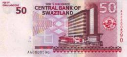 SWAZILAND P. 38a 50 E 2010 UNC - Swasiland
