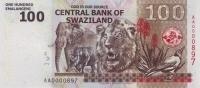 SWAZILAND P. 39a 100 E 2010 UNC - Swasiland