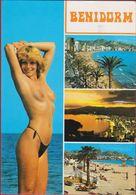 Benidorm Spain Espana Sexy Erotisme Nu Naakt Vrouwelijk Naked Nude Seins Nus Beautiful Girl Belle Fille Girl - Non Classés