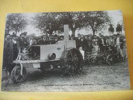 18 9089 CPA - 18 EXPOSITION AUTOMOBILE AGRICOLE DE BOURGES - TRACTEUR A ESSENCE PILFER - BELLE ANIMATION - Tractores