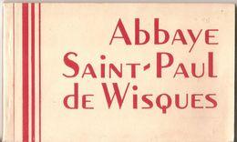 62 : Wisques : Abbaye Saint-Paul : Carnet De 17 Cartes - France