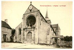 60890 MAREUIL-SUR-OURCQ - Le Portail De L'église - France