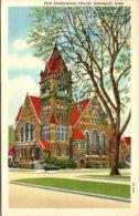 Iowa Davenport First Presbyterian Church 1953 Curteich - Davenport