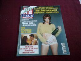 MYLENE FARMER   ° CINE  TELE  REVUE N° 20 LE 16 MAI 1996 ° LIBERTINE ET FEMME FATALE - Music