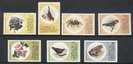 Grenada Grenadines 1976 Birds & Flowers MUH - Grenada (1974-...)