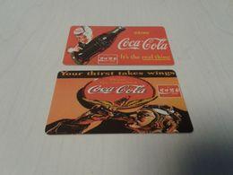 Zambia - 2 Phonecard As On Photo - Zambia