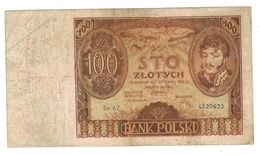 Poland , 100 Zlot. 1932,  F. - Pologne