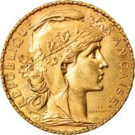 Monnaie, France, Marianne, 20 Francs, 1912, Paris, SUP, Or, Gadoury:1064a - France