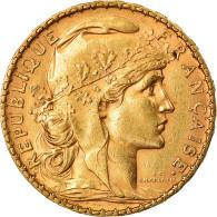 Monnaie, France, Marianne, 20 Francs, 1904, Paris, SUP, Or, Gadoury:1064, KM:847 - France
