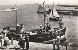 50 - SAINT VAAST LA HOUGUE-  L' Avant Port. Au Fond, L' Ile De Tatihou - Saint Vaast La Hougue