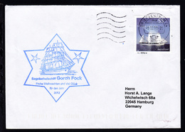 """Briefzentrum 26 5.12.11 + Cachet SSS """"Gorch Fock"""" Auf Brief - Germany"""