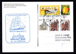 ROSTOCK 18057 Deutsche Post Erlebnis Briefmarken  3-Mast-Toppsegelschoner - Germany
