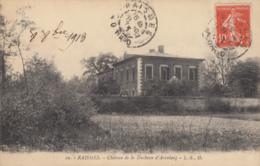 CPA - Raismes - Château De La Duchesse D'Arenberg - Raismes