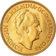Monnaie, Pays-Bas, Wilhelmina I, 10 Gulden, 1925, SUP, Or, KM:162 - 10 Gulden