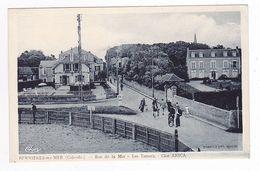 14 Bernières Sur Mer Vers Courseulles En 1945 Rue De La Mer Les Tamaris Clos ANICA Borne Michelin GC 84 VOIR ZOOM Et DOS - Courseulles-sur-Mer