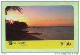 Samoa - SamoaTel Inductive -  2003 First Issue $5  - Mint - Samoa