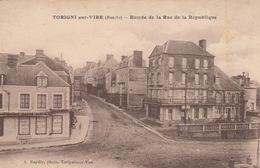 50 - TORIGNI SUR VIRE - Entrée De La Rue De La République - Sonstige Gemeinden