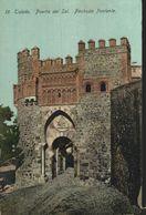Toledo. Puerta Del Sol, Fachada Poniente.  Castilla - La Mancha // España - Toledo