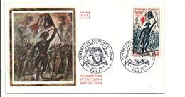 FDC 1972 BONAPARTE AU PONT D'ARCOLE - 1970-1979