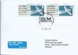 Vignette D'affranchissement IAR - ATM - Post & Go - Poste Aérienne - Hydravion Short Empire - Airplanes
