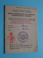 PERMIS Int. De CONDUIRE / RIJBEWIJS België / Belgique N° 773500 - 1981 ( CASSAL Alex.1920 St. Josse > Zie/voir Photo ) ! - Coches