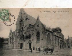 La  Fère -   Eglise  St - Montain. - Fere En Tardenois