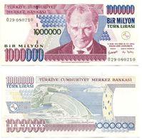 Billet 1 Million Turc Bir Milyon 1 000 000 Turk Lirasi 1970 Comme Neuf - Turchia