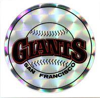 Ancien Autocollant Réflecteur MLB Baseball San Francisco Giants Sport Kodak 1980 - Panini