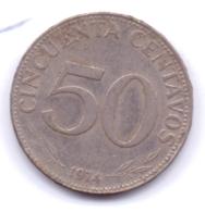 BOLIVIA 1974: 50 Centavos, KM 190 - Bolivia